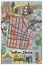 Load image into Gallery viewer, Northern Liberties Neighborhood Map