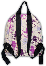 Load image into Gallery viewer, Octopus Canvas Kids Backpack