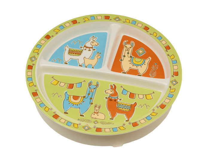 Mama Llama Divided Suction Plate by Ore Originals at local Fairmount shop Ali's Wagon in Philadelphia, Pennsylvania