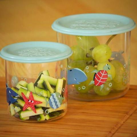Ocean Good Lunch Snack Containers by Ore Originals at local Fairmount shop Ali's Wagon in Philadelphia, Pennsylvania