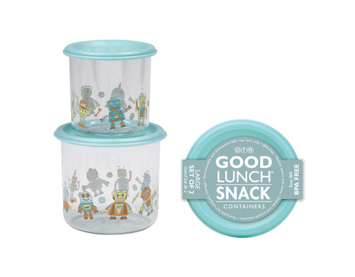 Retro Robot Good Lunch Snack Containers by Ore Originals at local Fairmount shop Ali's Wagon in Philadelphia, Pennsylvania