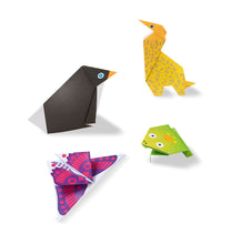 Load image into Gallery viewer, Origami Animals On the Go Craft
