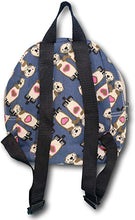 Load image into Gallery viewer, Sea Otter Canvas Kids Backpack