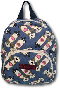 Sea Otter Canvas Kids Backpack