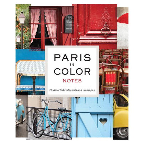 Paris in Color Notecards
