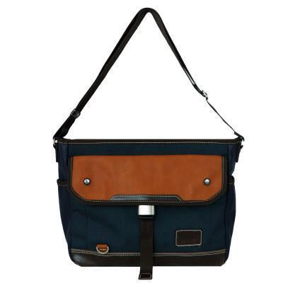 Navy Parkland Messenger Bag