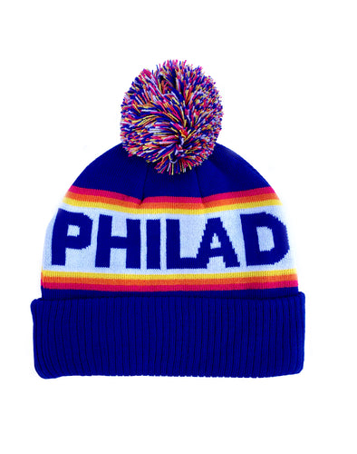 Philadelphia Sunrise Pom Hat