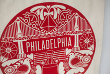 Load image into Gallery viewer, PA Dutch Philadelphia Tote Bag