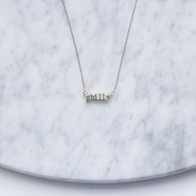Load image into Gallery viewer, Philly Type Necklace