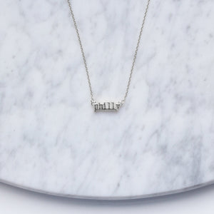 Philly Type Necklace