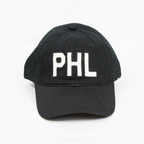 Black PHL Baseball Hat