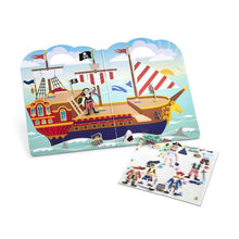 Load image into Gallery viewer, Pirates Puffy Sticker Play Set