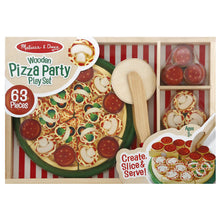 Load image into Gallery viewer, Pizza Party Wooden Play Set