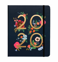 Load image into Gallery viewer, 2020 Wild Rose Covered Spiral Planner