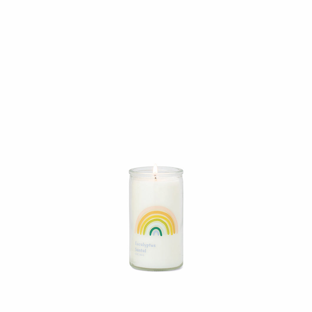 Love is Love Rainbow Spark Candle