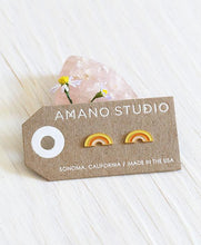Load image into Gallery viewer, Retro Rainbow Stud Earrings