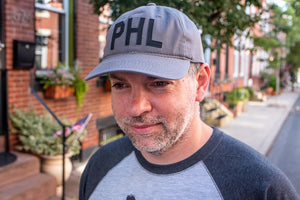 Charcoal PHL Baseball Hat