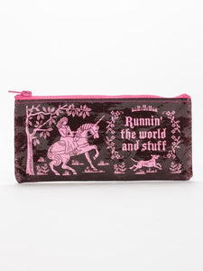 Runnin The World Pencil Case
