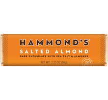 Load image into Gallery viewer, Salted Almond Dark Chocolate Bar
