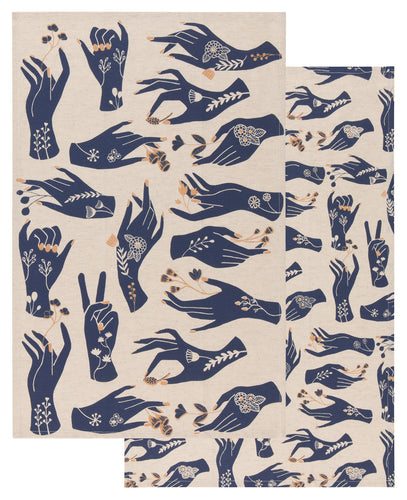 Show of Hands Tea Towels