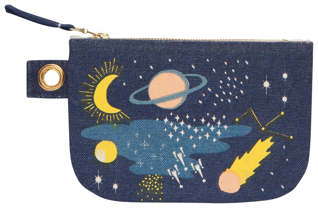 Cosmic Small Zipper Pouch