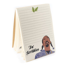 Load image into Gallery viewer, Fo Scribbles Snoop Dog Notepad