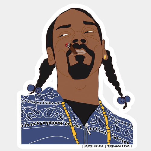 Snoop Dog Sticker