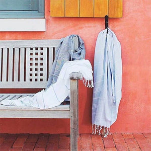 Black Sultan Turkish Towel
