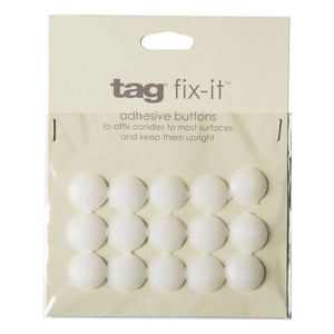 Fix It Buttons, Candle Adhesive by tag at local housewares store Division IV in Philadelphia, Pennsylvania