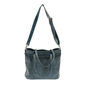 Deja Blue Terri Zip Top Handbag
