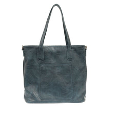 Load image into Gallery viewer, Deja Blue Terri Zip Top Handbag