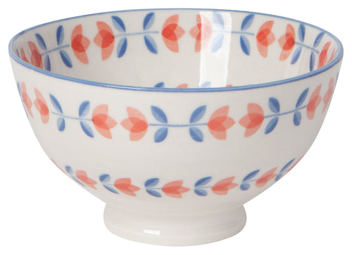 Tulip Stamped Bowl