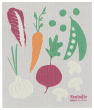 Load image into Gallery viewer, Veggies Swedish Dish Cloth