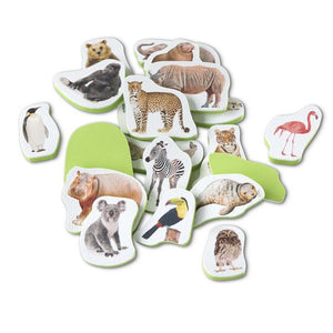 Wild Animals Tub Stickers