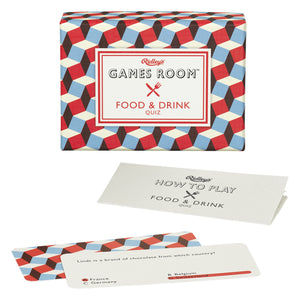 Food & Drink Quiz Deck by Wild and wolf at local Fairmount shop Ali's Wagon in Philadelphia, Pennsylvania