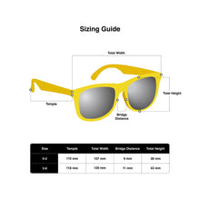 Load image into Gallery viewer, Yellow Hipsterkid Sunglasses