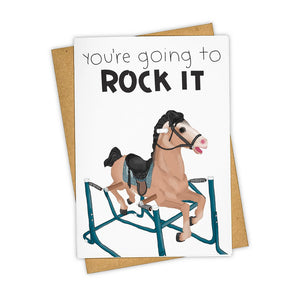 You're Going to Rock It Card