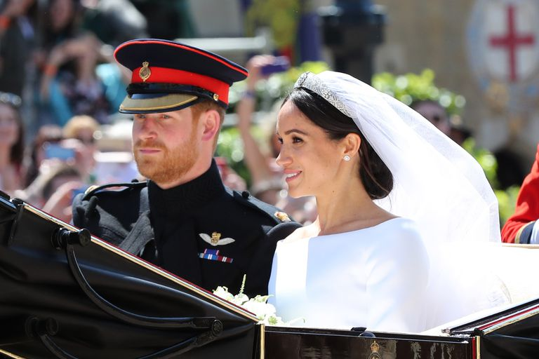 Meghan Markel's Wedding Earrings