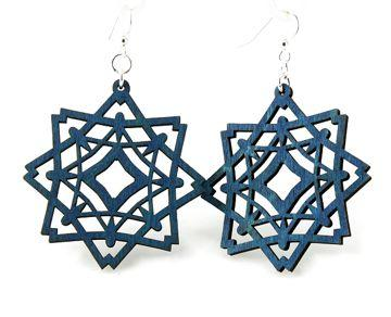 Diamond Snowflake Earrings - Joy of London Jewels