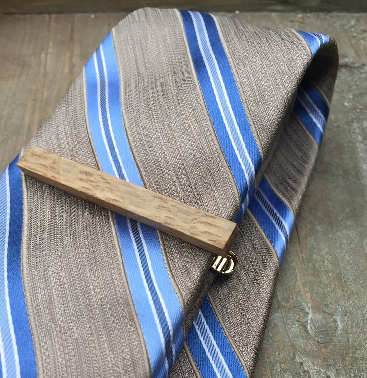 Men's Whiskey Barrel Tie Clips