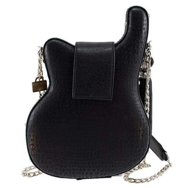 Handmade Your Greatest Hits Guitar Rock & Roll Handbag