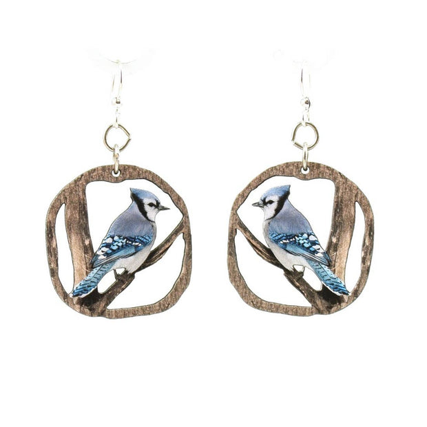 Blue Jay Earrings - Joy of London Jewels