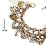 Sending All My Love Charm & Locket Bracelet