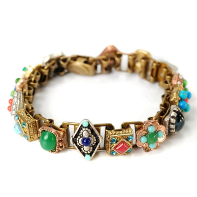 Palm Springs Old Hollywood Vintage Book Bracelet - Joy of London Jewels