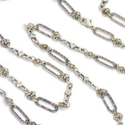 Romantic French Chantilly Clip Long Necklace