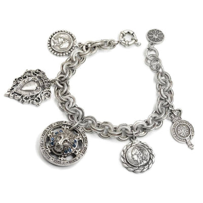 Handmade Noble Order of the Garter Charm Bracelet - Joy of London Jewels