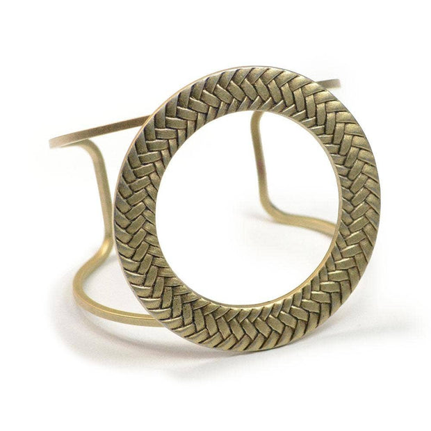 Modern Updated 1960s Braided Bracelet - Joy of London Jewels