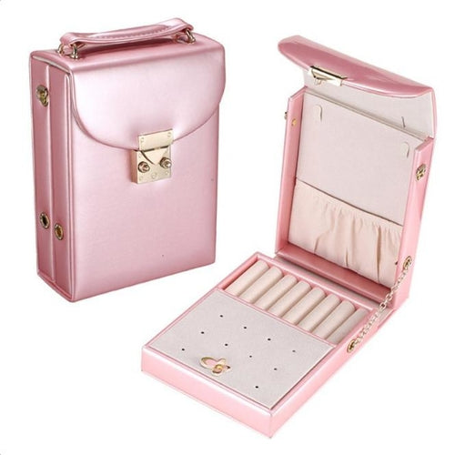 Bridesmaid Cosmetic & Jewelry Vanity Travel Bag Organizer - Joy of London Jewels