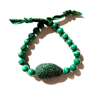 Puro Verde Malachite Bracelet - Joy of London Jewels