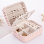 A Travel Sized Compact Jewelry Box - Joy of London Jewels